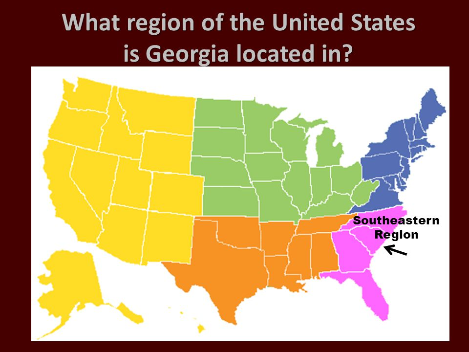 What region of the United States is Georgia located in