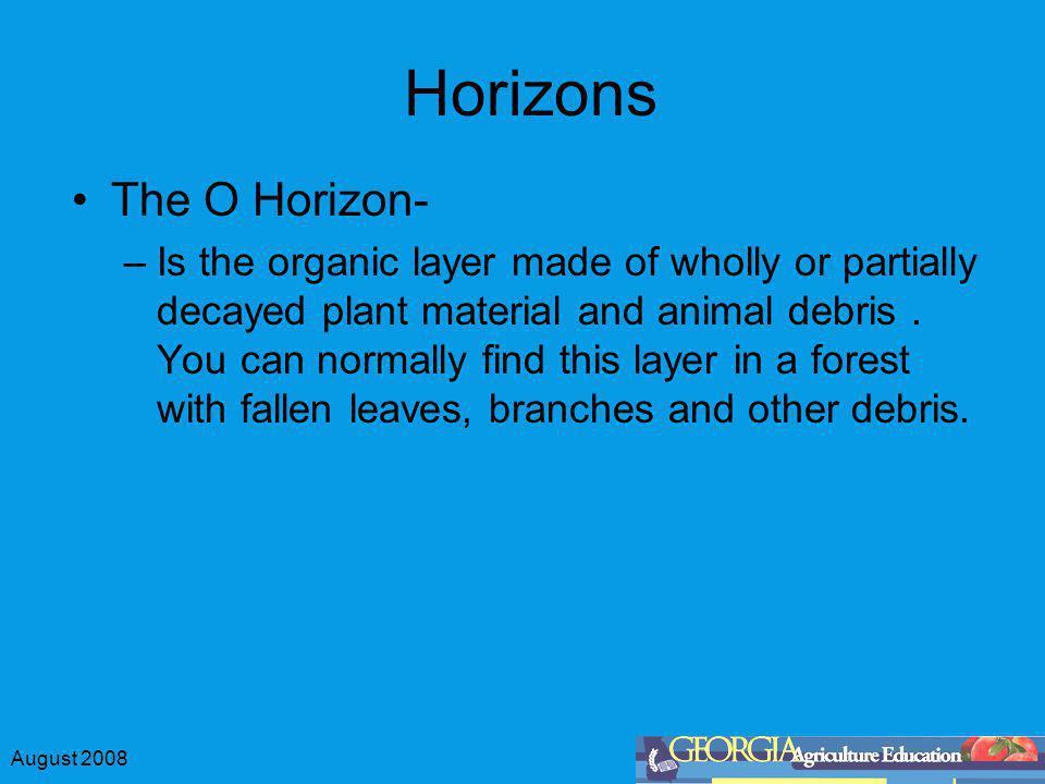 Horizons The O Horizon-