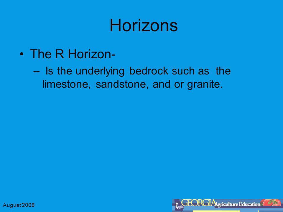 Horizons The R Horizon-