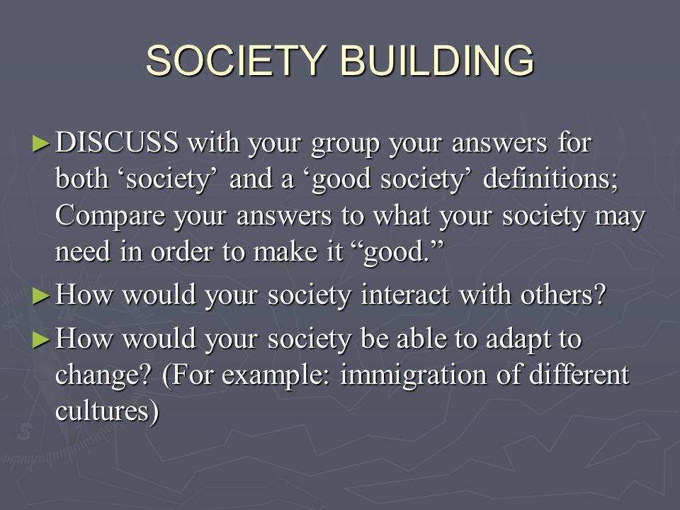 SOCIETY BUILDING