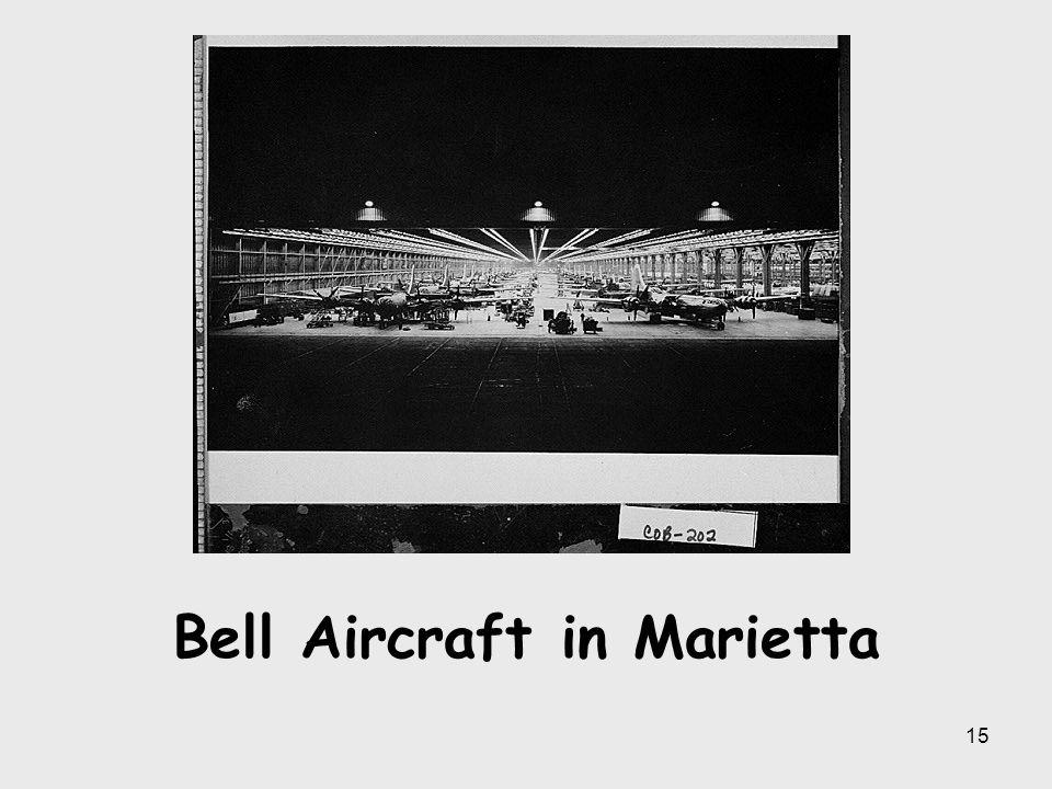 Bell Aircraft in Marietta