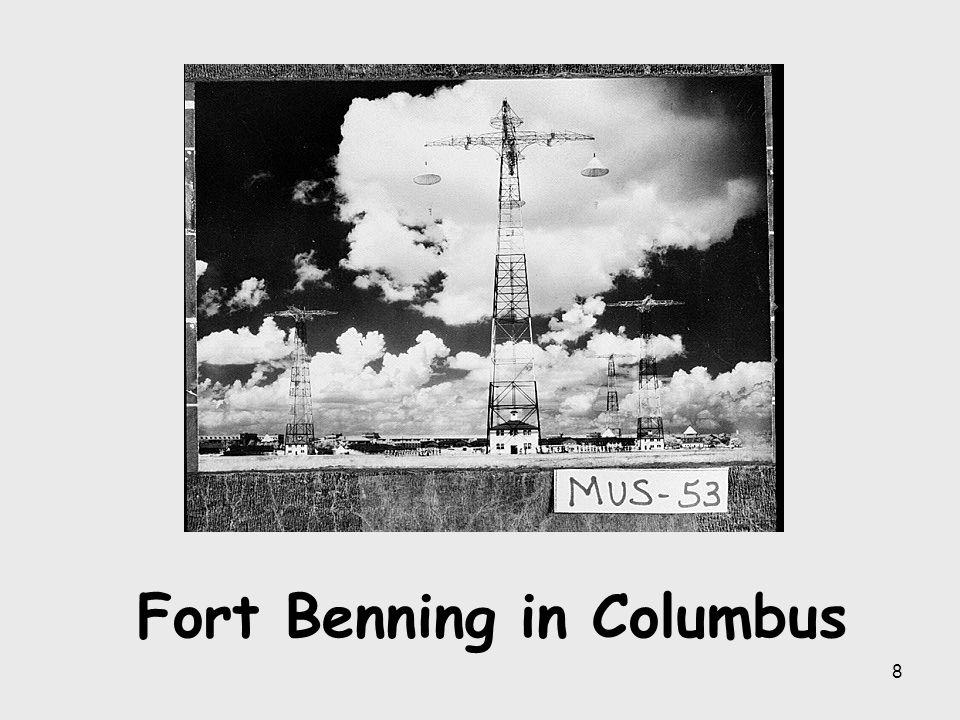 Fort Benning in Columbus
