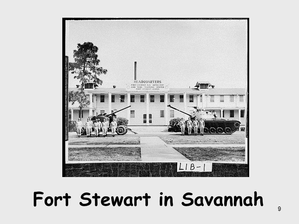 Fort Stewart in Savannah