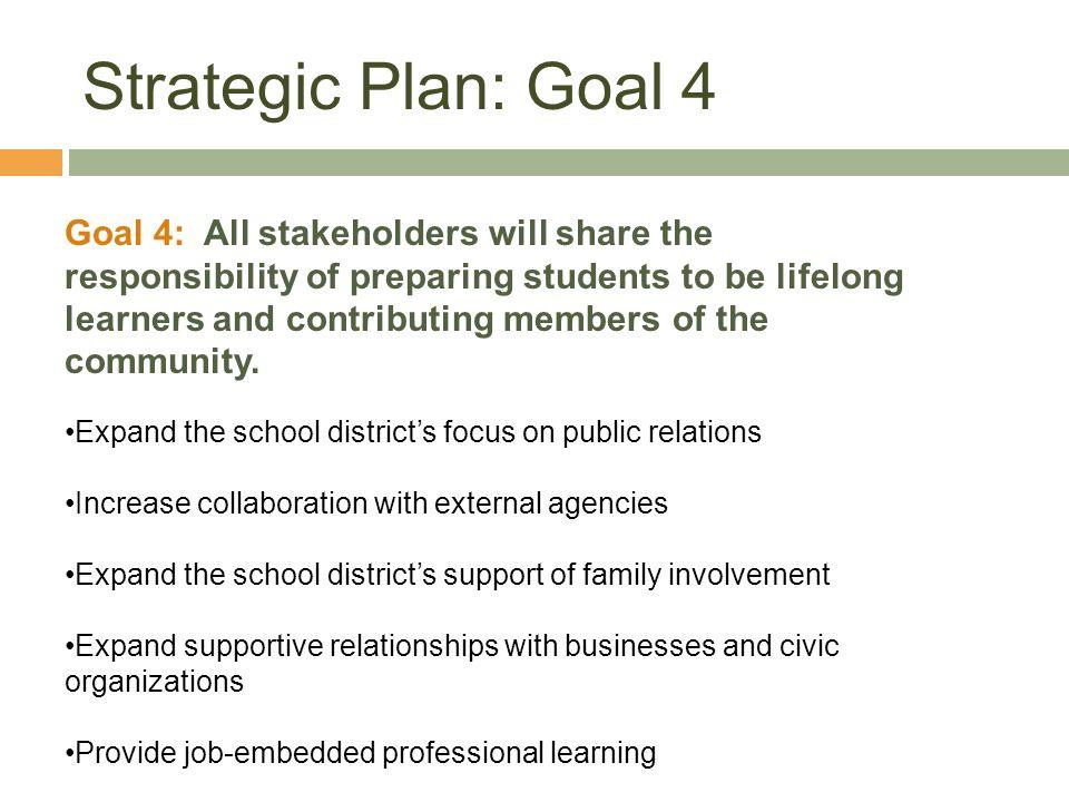 Strategic Plan: Goal 4