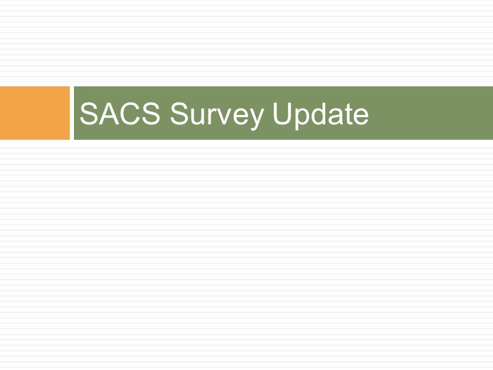 SACS Survey Update
