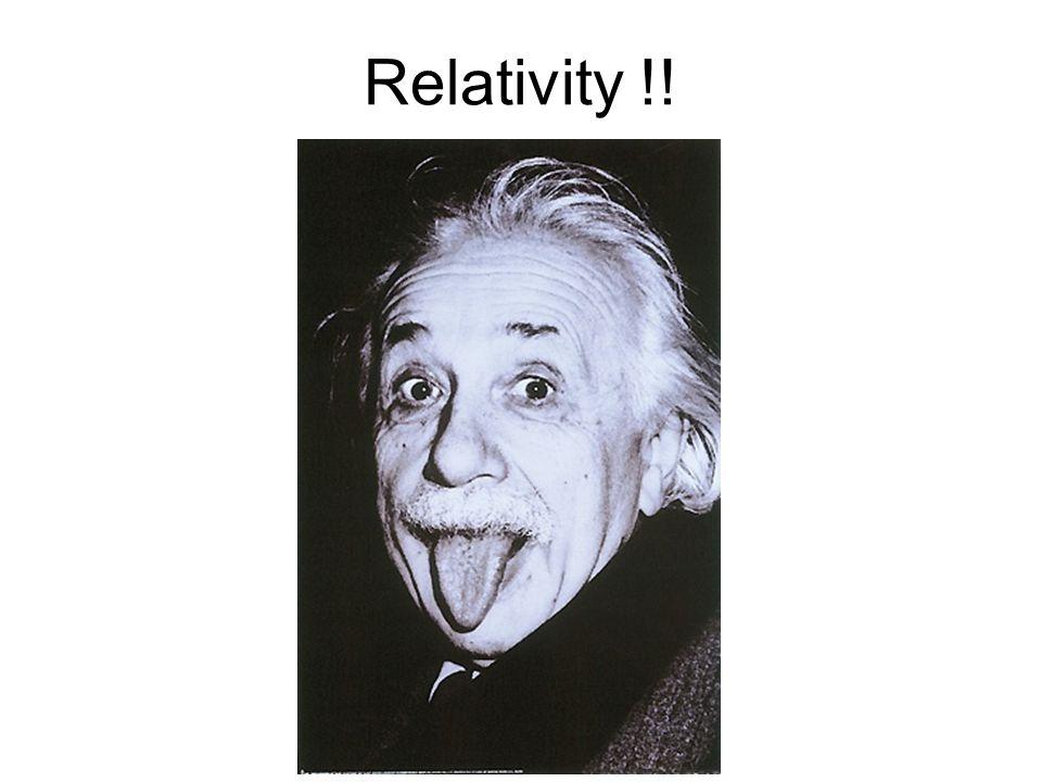 Relativity !!