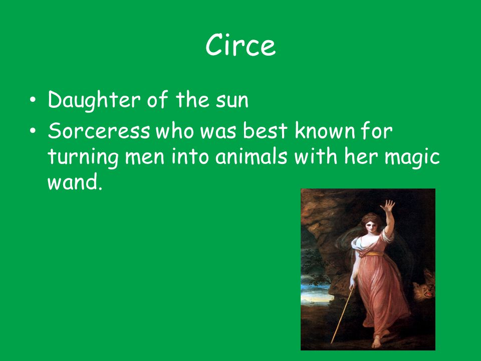 Circe Daughter of the sun