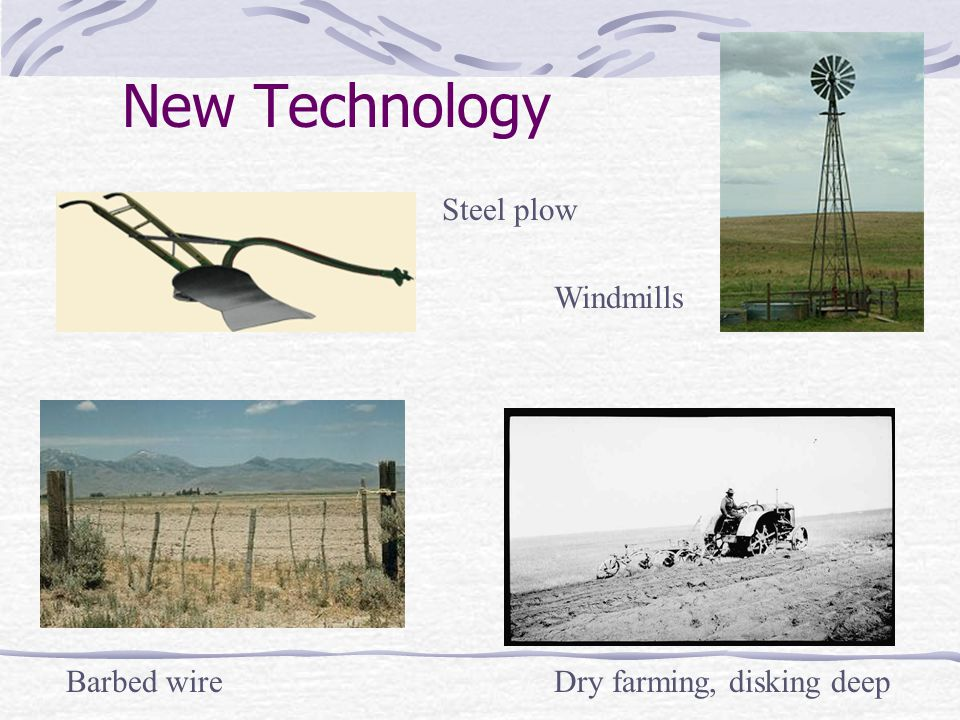 New Technology Steel plow Windmills Barbed wire