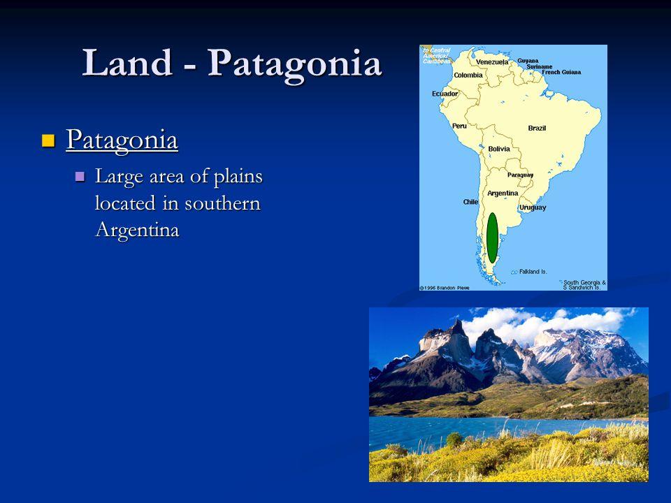 Land - Patagonia Patagonia