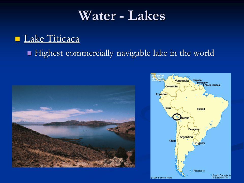 Water - Lakes Lake Titicaca