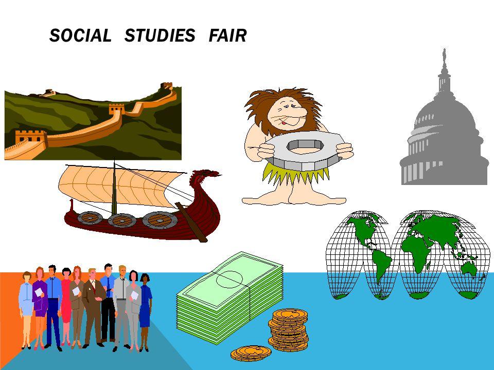 SOCIAL STUDIES FAIR