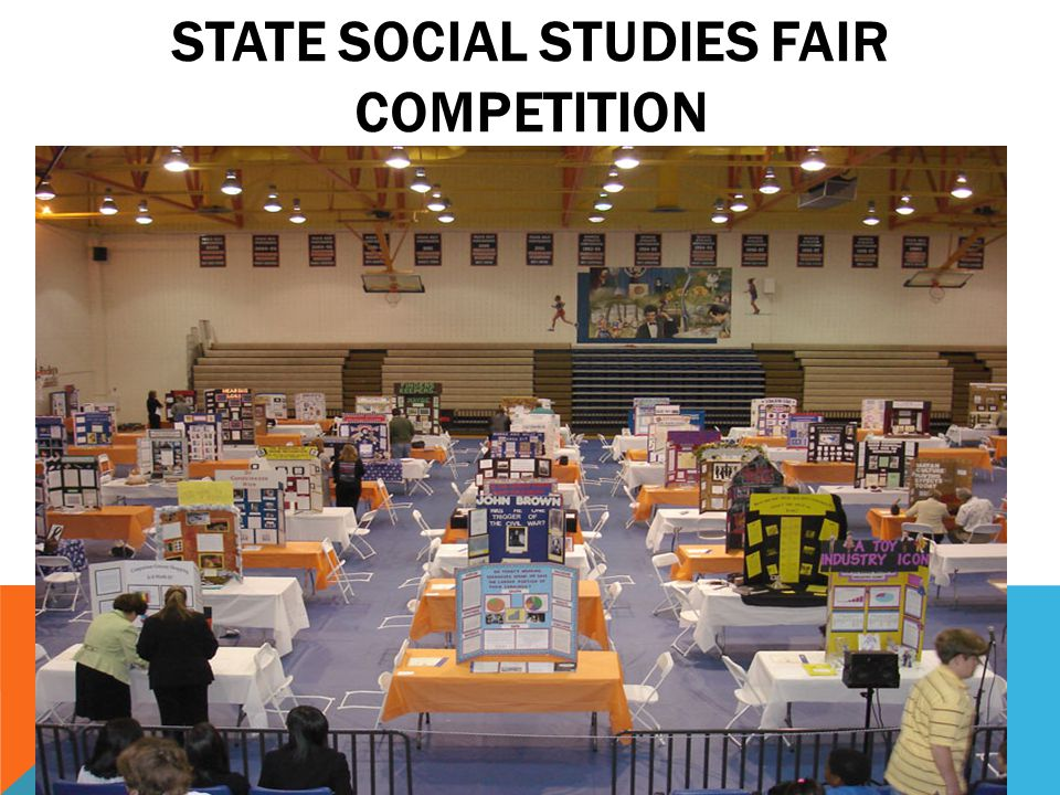 State Social Studies Fair Competition