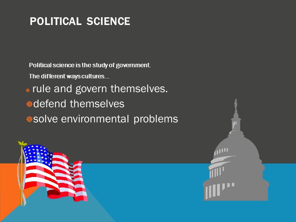 solve environmental problems