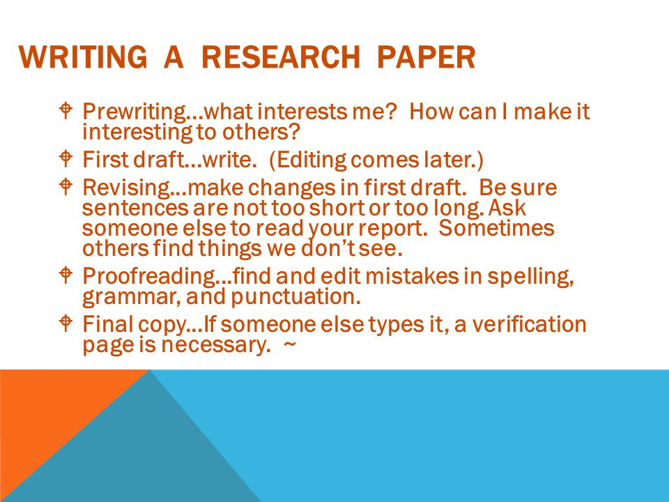 who can write a research paper for me