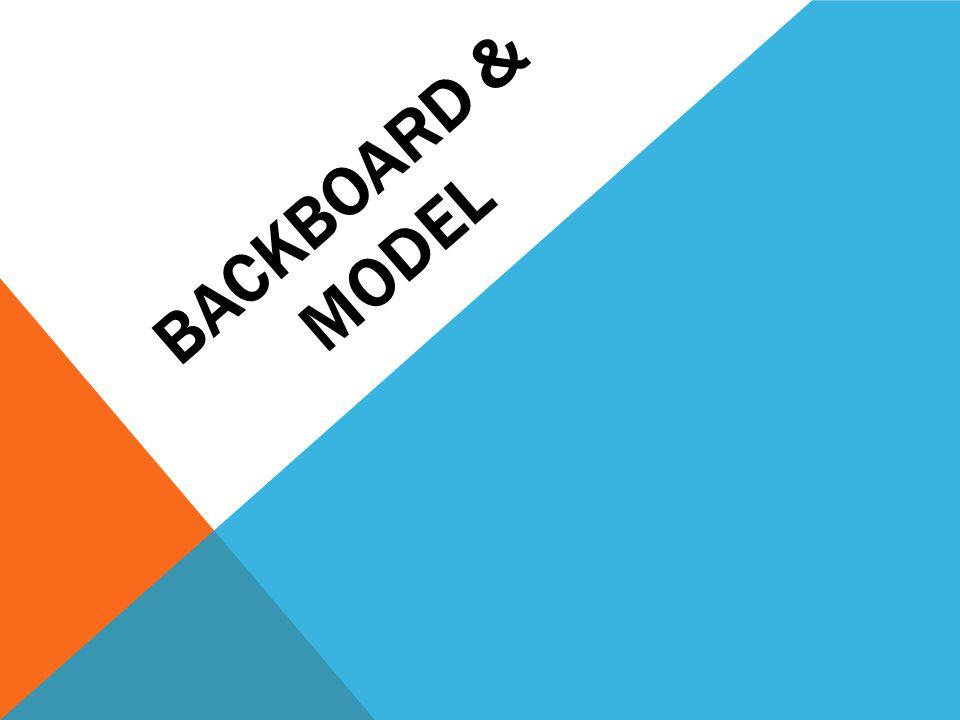 Backboard & Model