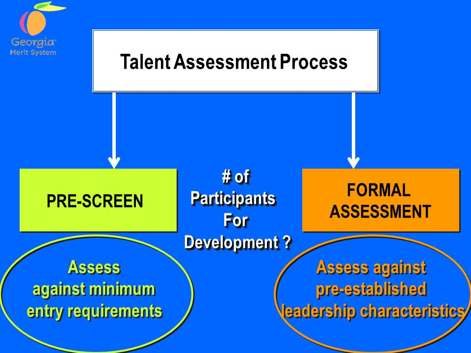 Talent Assessment Process leadership characteristics