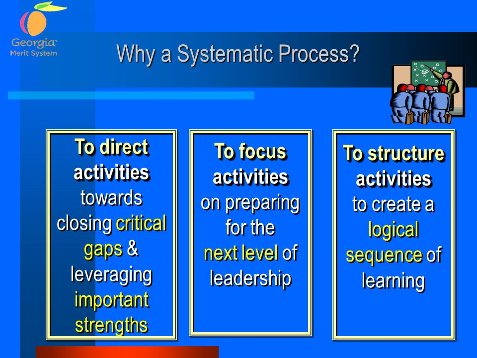 Why a Systematic Process