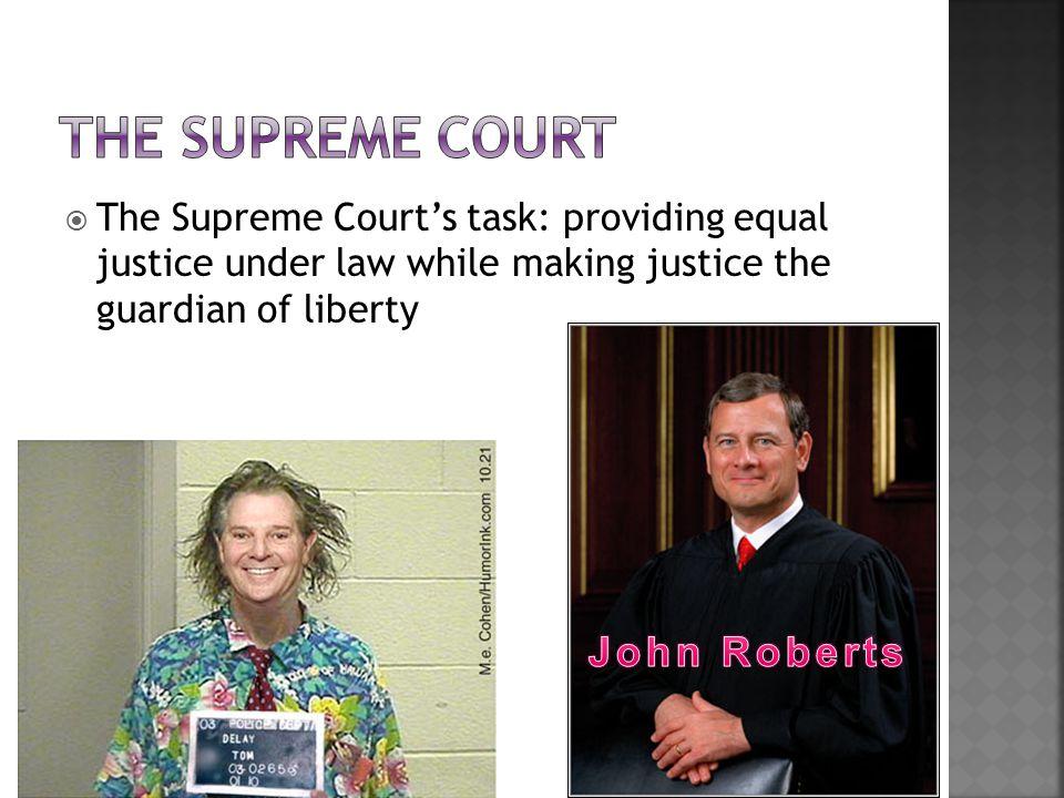 The Supreme Court John Roberts