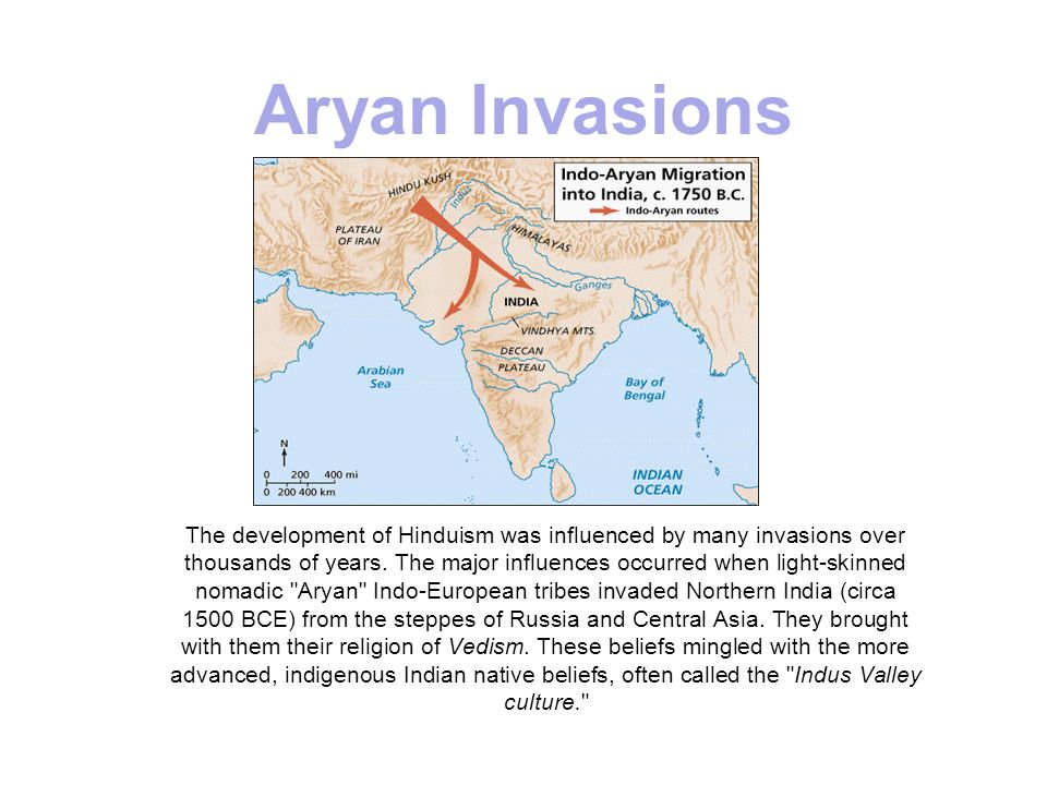 Aryan Invasions