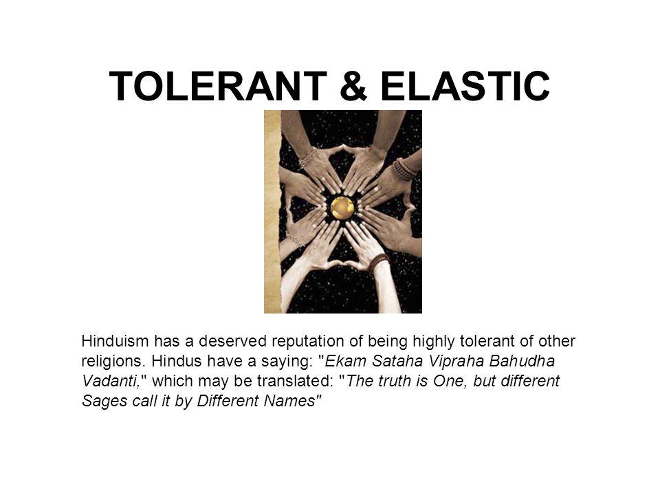 TOLERANT & ELASTIC