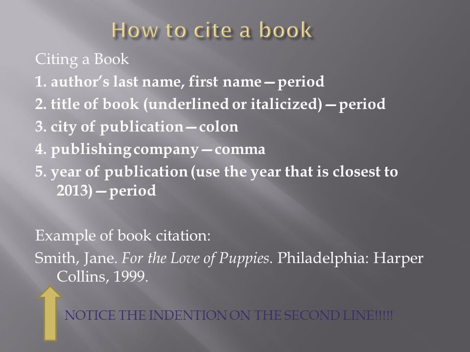 Do You Underline Book Titles?