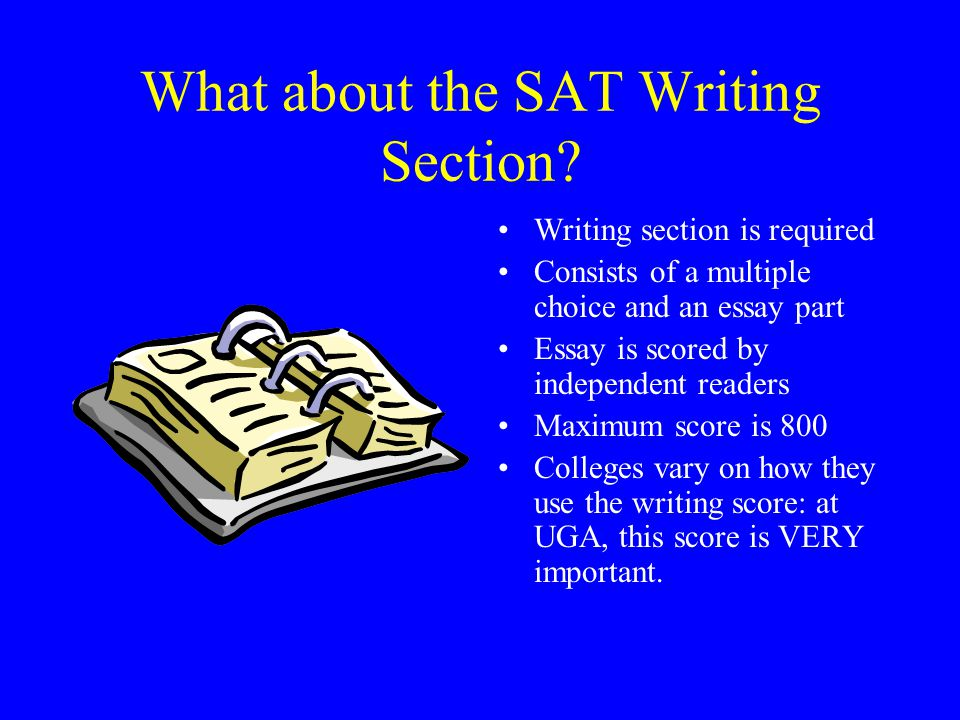 What about the SAT Writing Section
