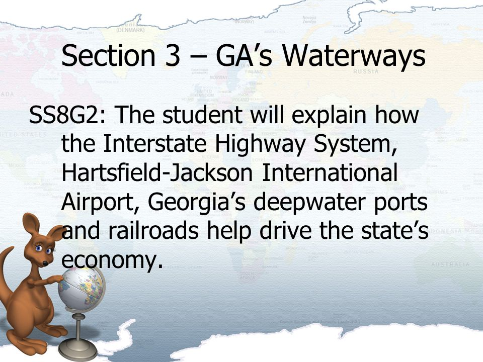 Section 3 – GA's Waterways