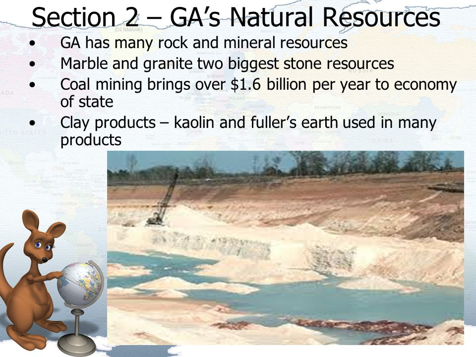 Section 2 – GA's Natural Resources