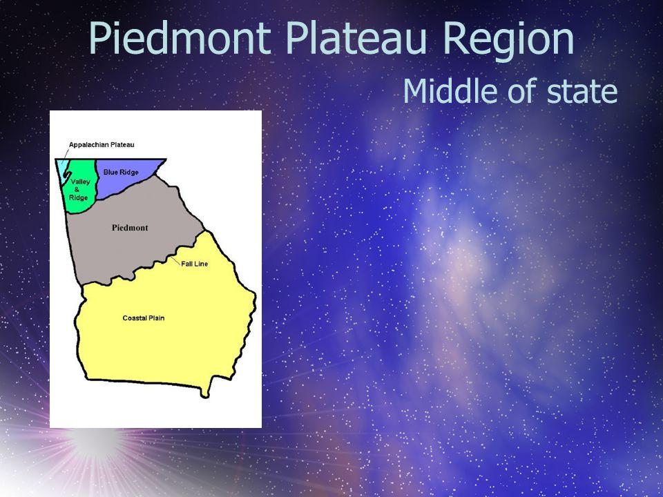 Piedmont Plateau Region