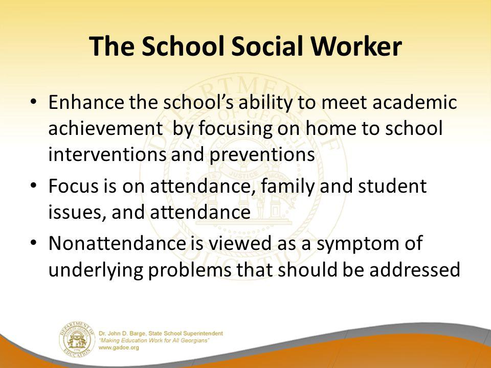 The School Social Worker
