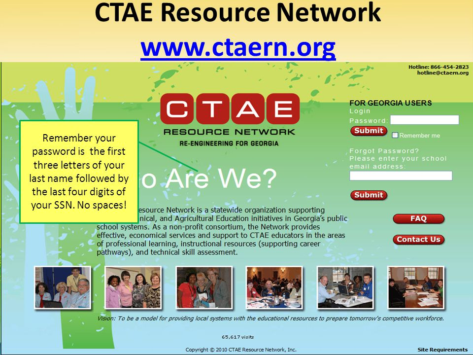 CTAE Resource Network www.ctaern.org