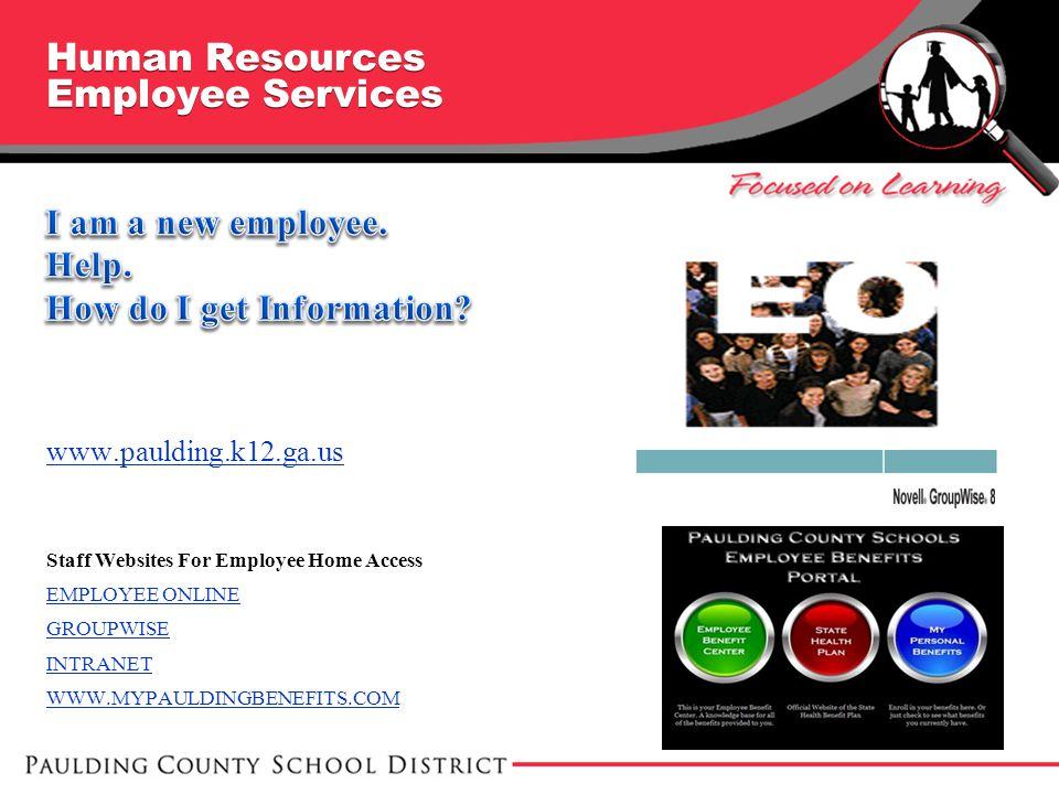 Human Resources Employee Services