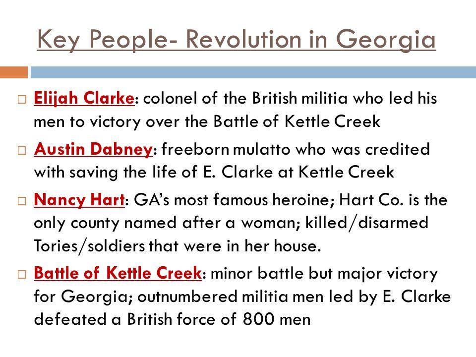 Key People- Revolution in Georgia