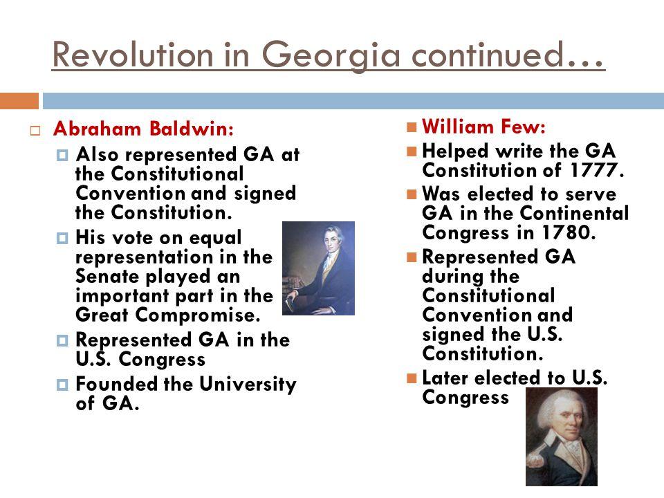 Revolution in Georgia continued…