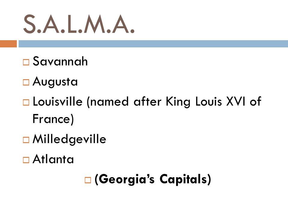 S.A.L.M.A. Savannah Augusta