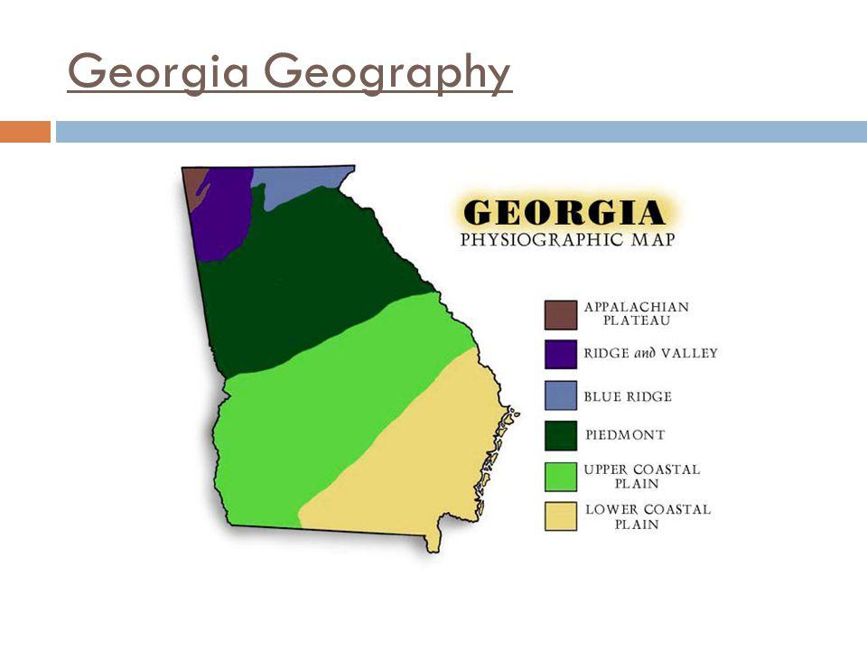 Georgia Geography