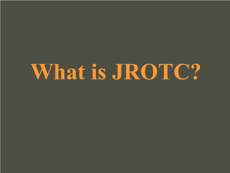 What is JROTC
