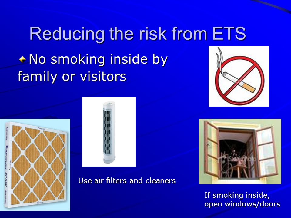 Reducing the risk from ETS