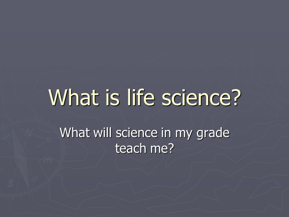What will science in my grade teach me