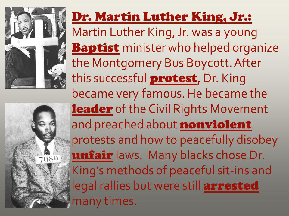 Dr. Martin Luther King, Jr. : Martin Luther King, Jr