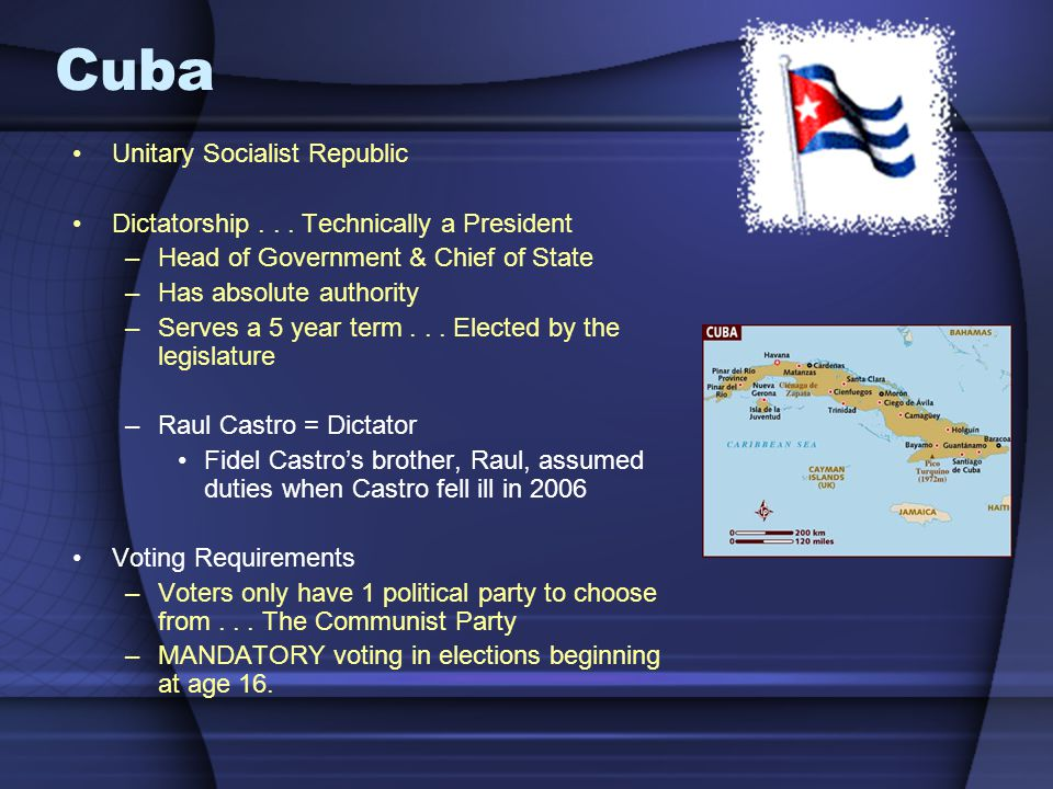 Cuba Unitary Socialist Republic