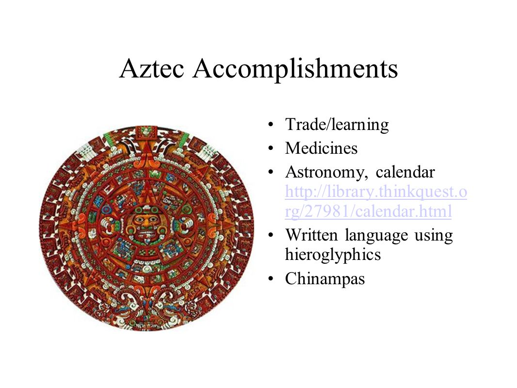 Aztec Accomplishments