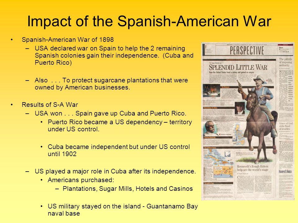 Impact of the Spanish-American War