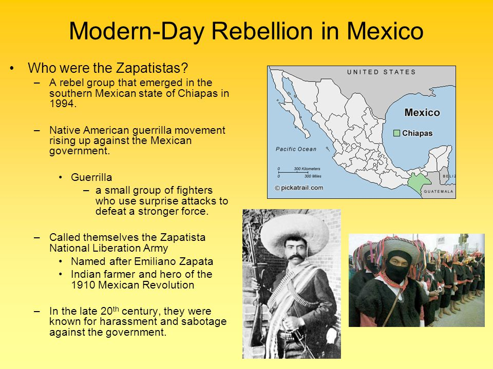Modern-Day Rebellion in Mexico