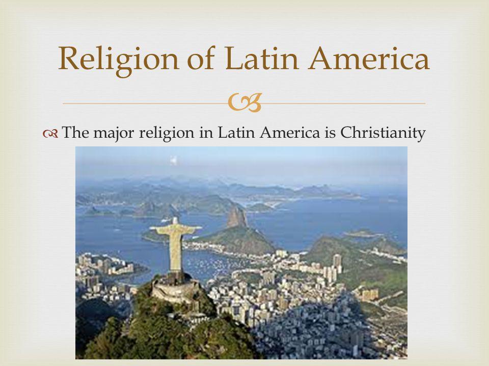 Religion of Latin America