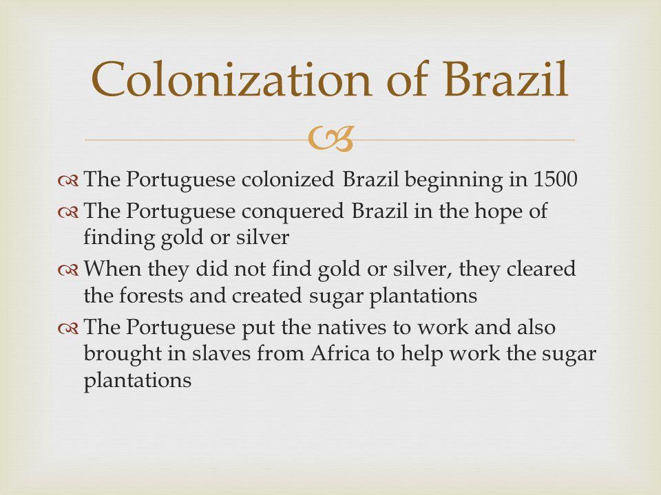 Colonization of Brazil