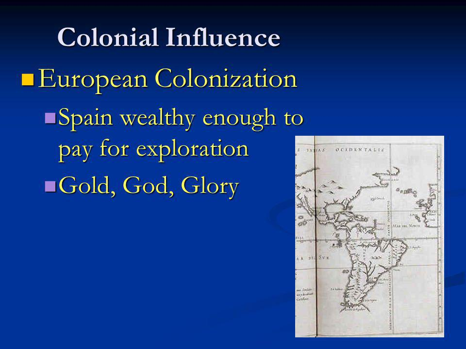 European Colonization