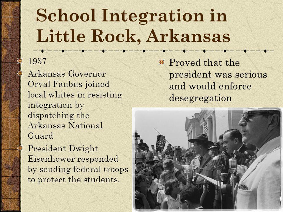 School Integration in Little Rock, Arkansas