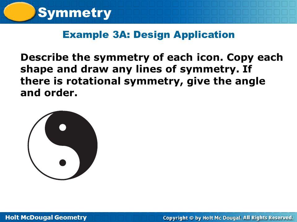 Example 3A: Design Application