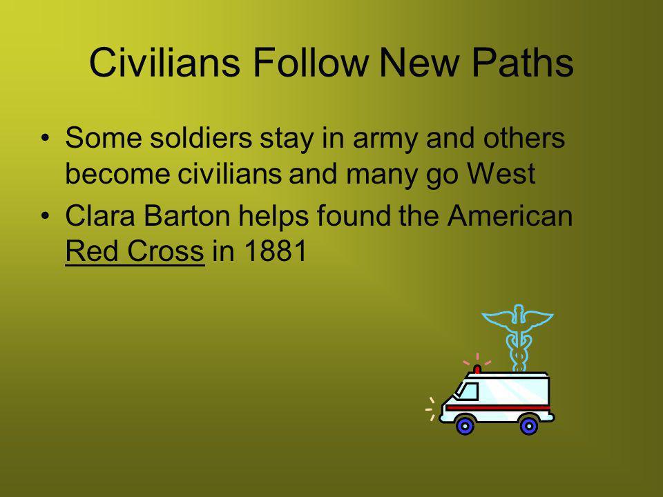 Civilians Follow New Paths